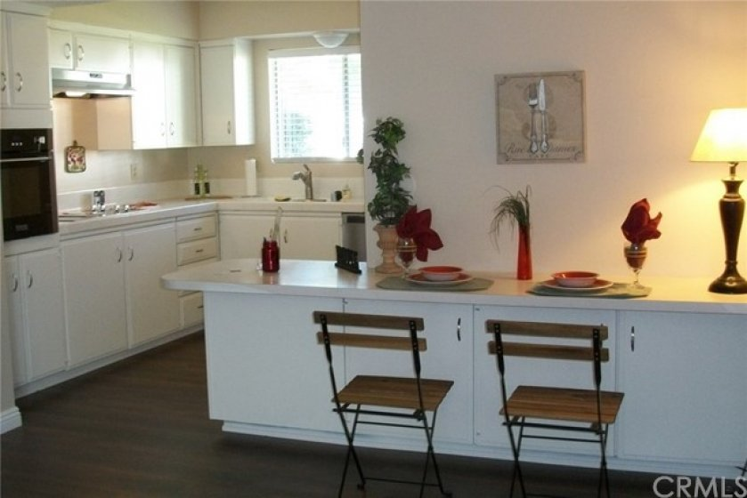 DINING BREAKFAST BAR WITH STORAGE
