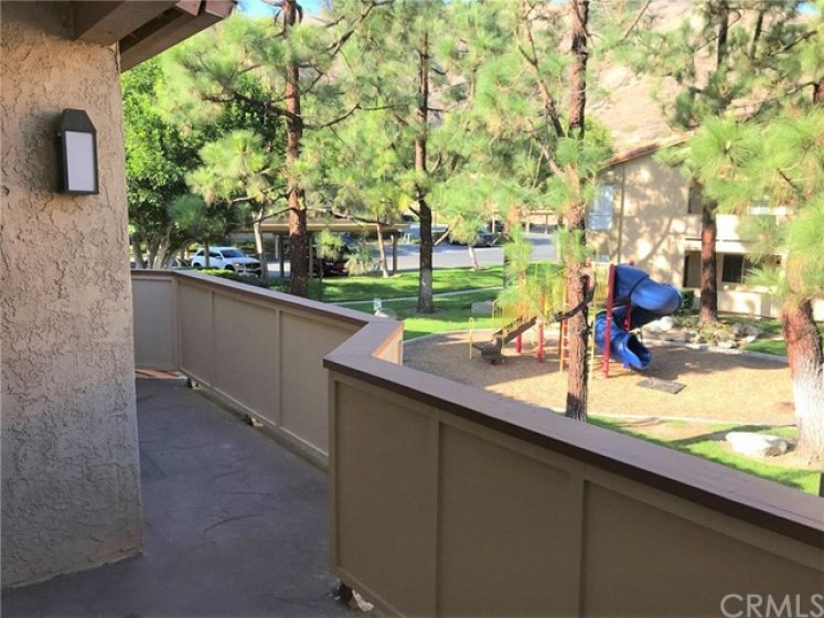 View from wrap-around deck