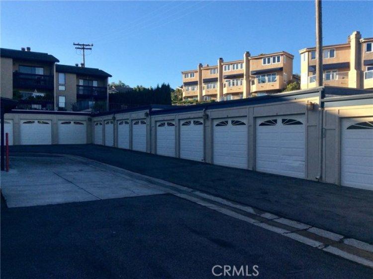 1 car garage per each condo.