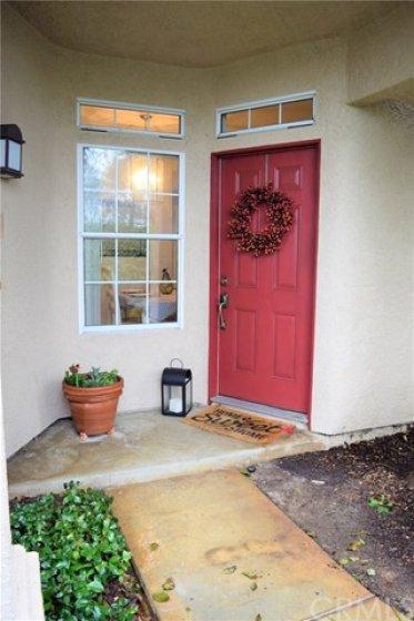 Welcome door and porch