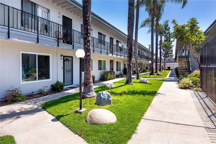 Common space in front of your new condo!