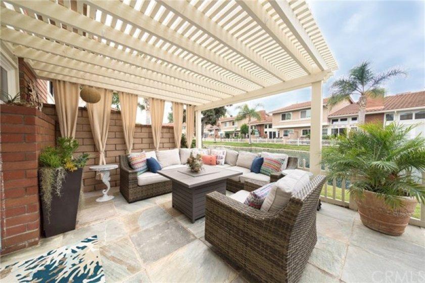 Brand new veranda!