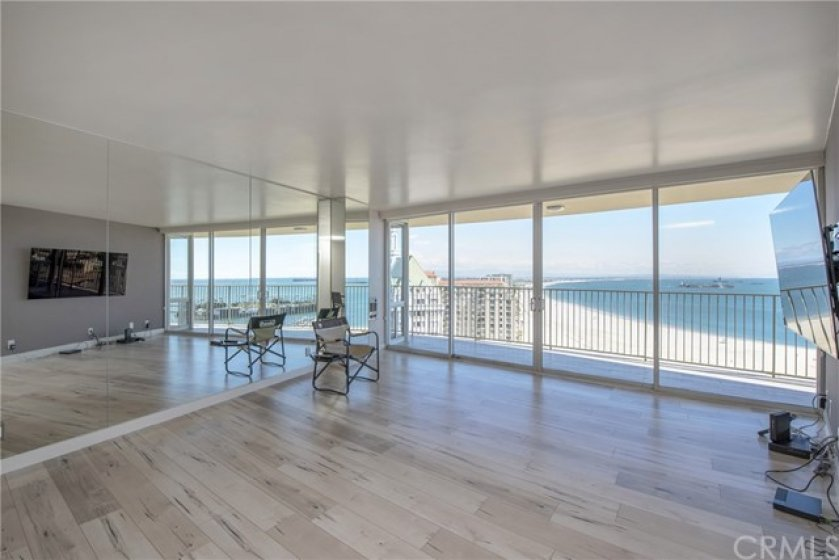 Large living room with the most amazing view