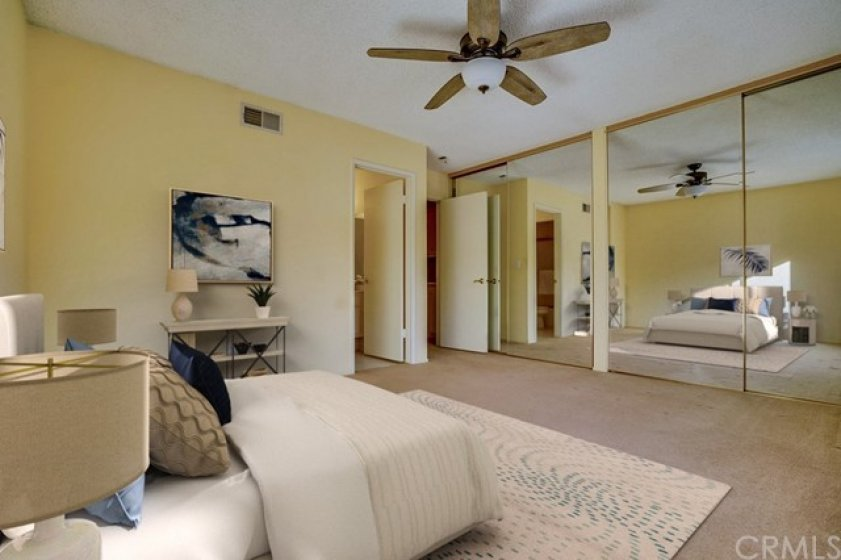 Junior suite also features large closets and full bathroom