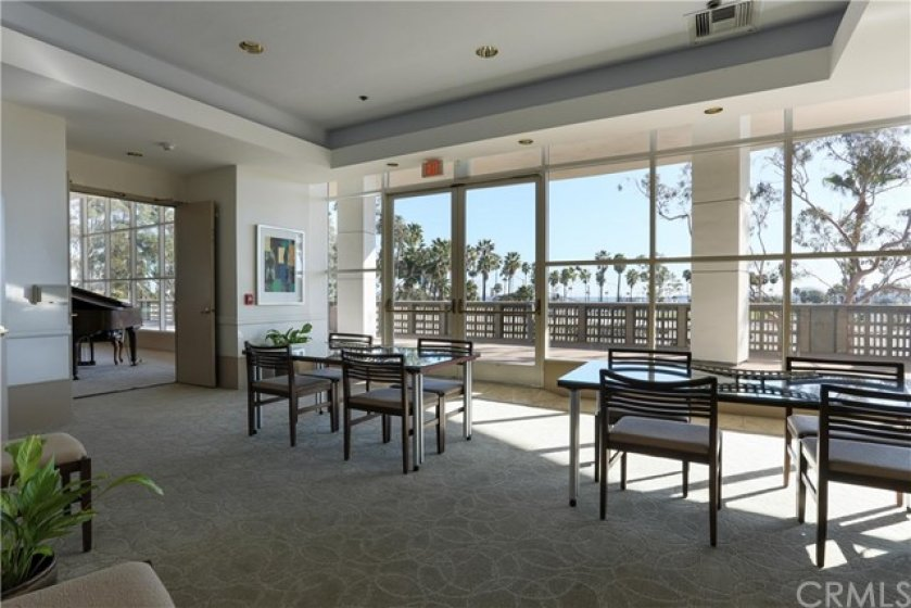 Conference Room offers residents a relaxing study area with a view-  Double-door adjacent to the lobby.