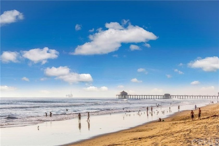 Huntington Beach - one of the world's finest beaches just minutes away. Hop on your bike and take the Santa Ana River Trail located directly behind the Sea Spray community. Surf, sun and sand!