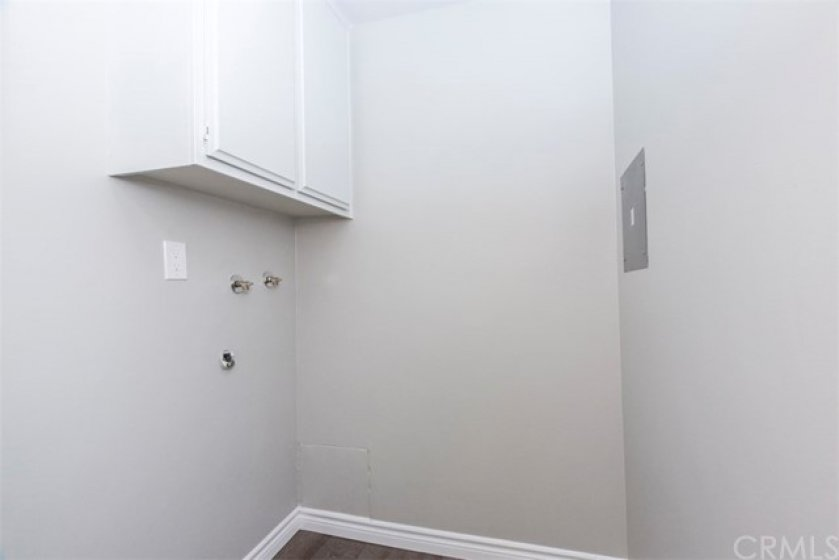 Private Laundry Room just steps away.