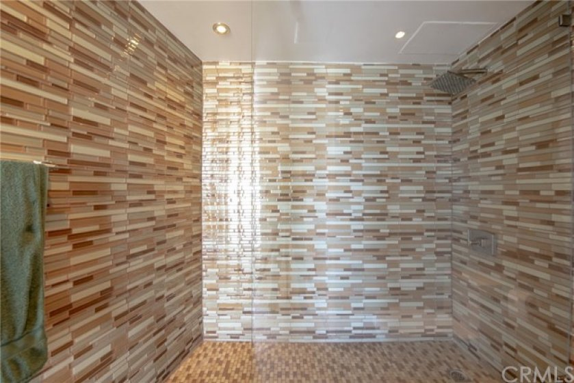 Master 1 walk-in shower