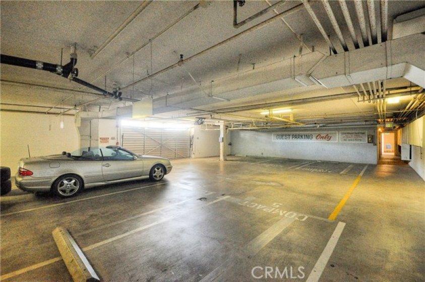 Guest parking.