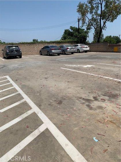 Upper level Parking Structure. Assigned parking below