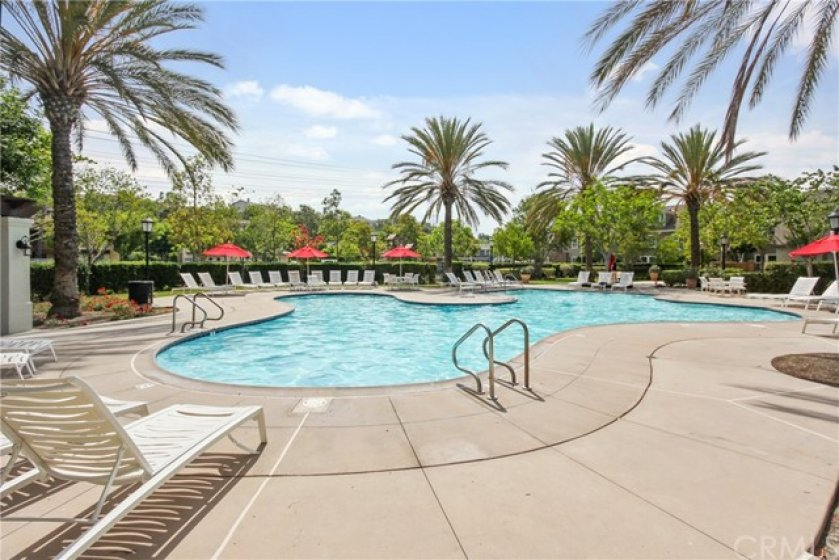 Resort-style Amenities including a sparking pool