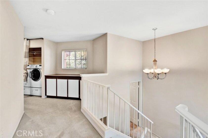 Linen area upstairs