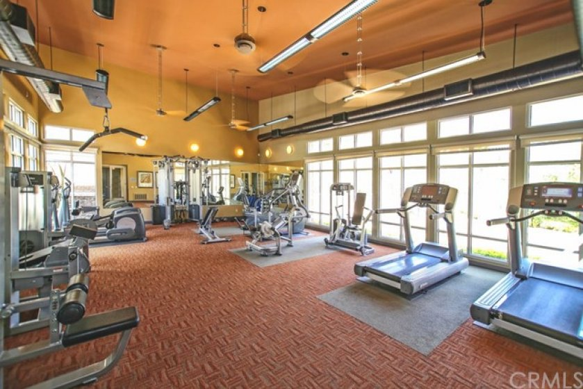 Full state of the art workout facility is available 24/7 to keep your focused and in shape!