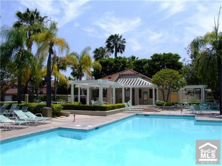 Resort style pool.