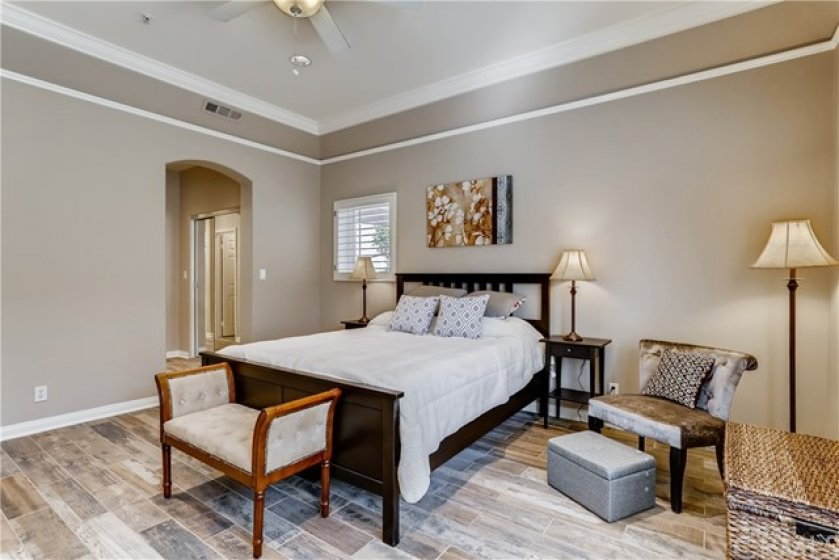 Second Master Suite with Double Walk-In Closet
