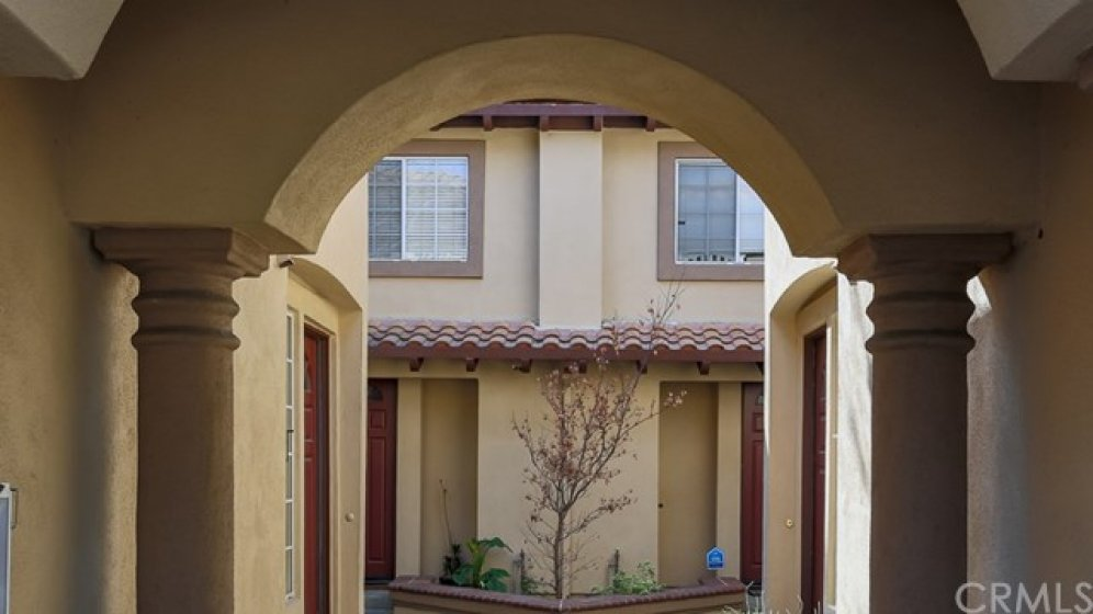 Courtyard entry.