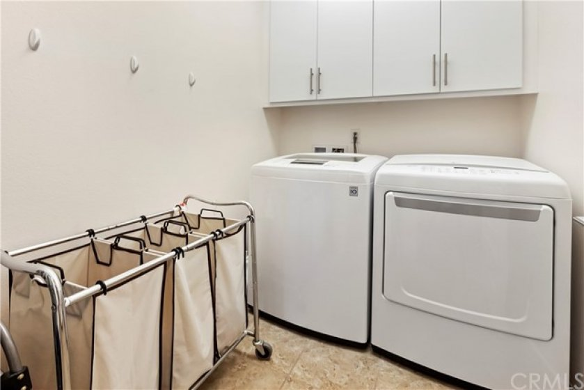 There is nothing quite like an UPSTAIRS laundry room!