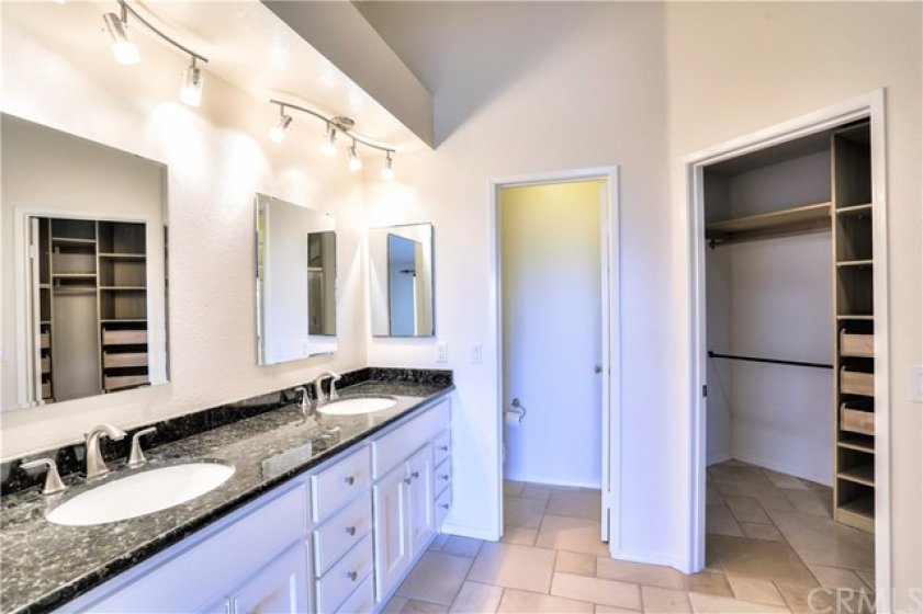 Remodeled Master Bathroom with Dual Sinks