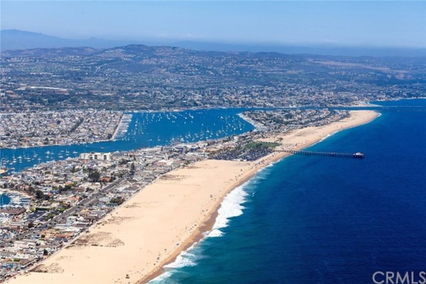Short Drive to Newport Beach and Huntington Beach