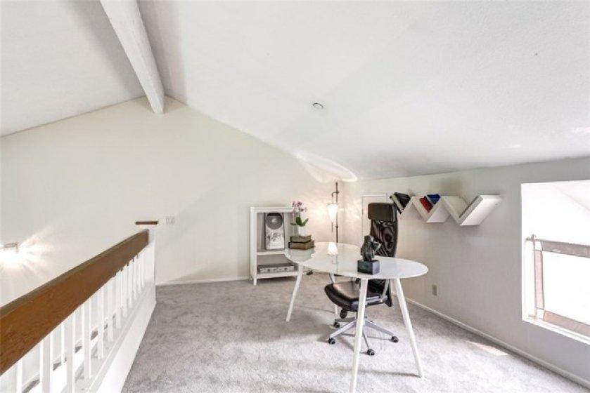 Upstairs loft
