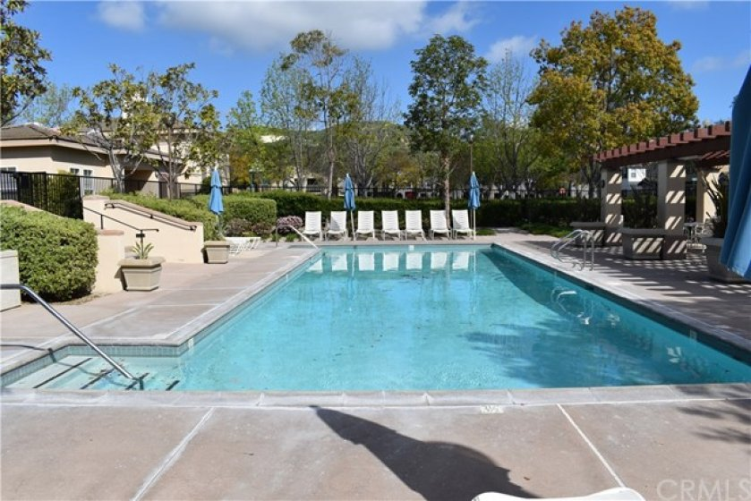 Just one of many nearby pools to enjoy from.