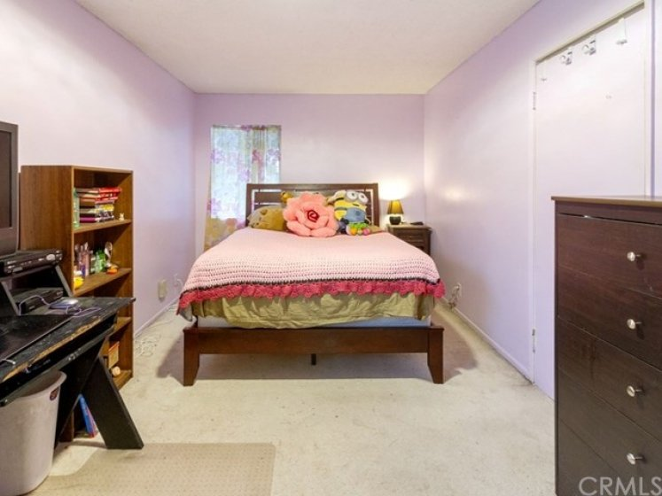 Secondary bedroom upstairs is a generous size too!