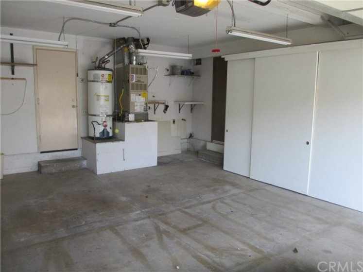 Double car garage with Storage