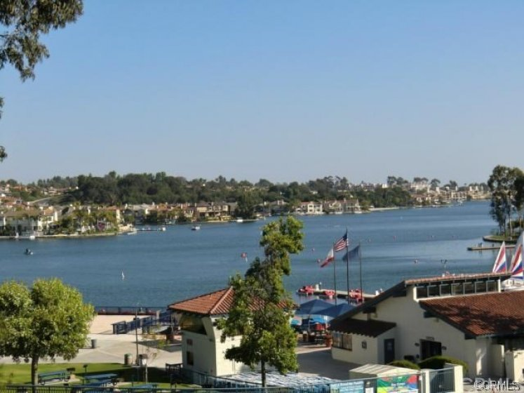 Residents are members to private Lake Mission Viejo.