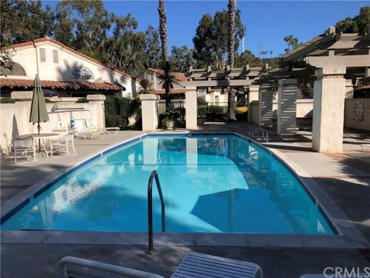 Steps away from gorgeous pool and spa.