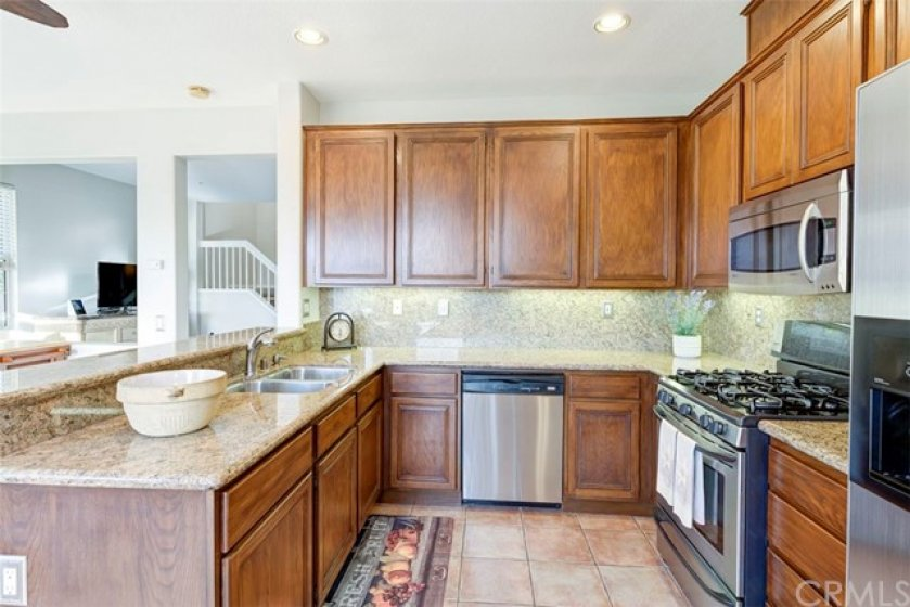 Ideal for entertaining the kitchen opens to the dining area/family room.