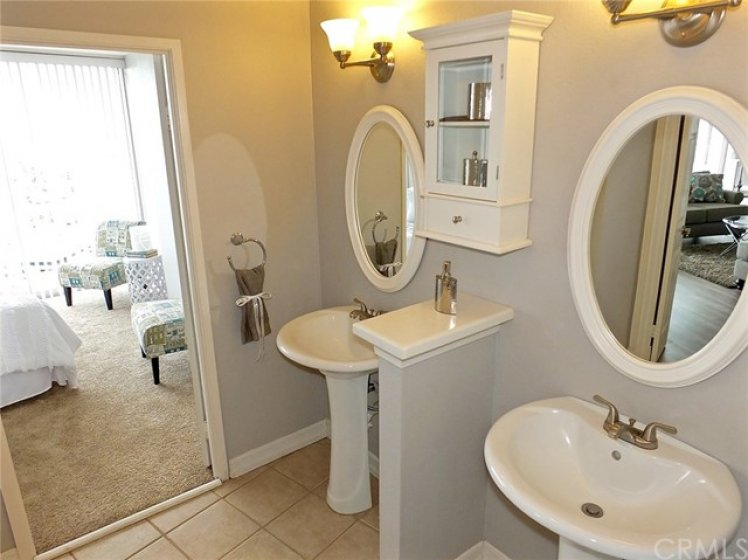 Second Master Bathroom With Dual Sinks