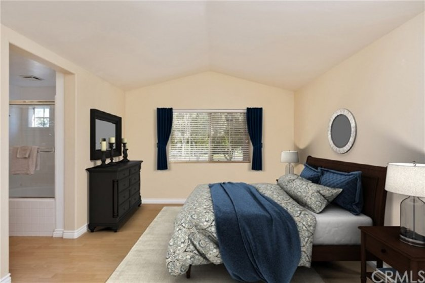 Master Bedroom - Virtually Staged
