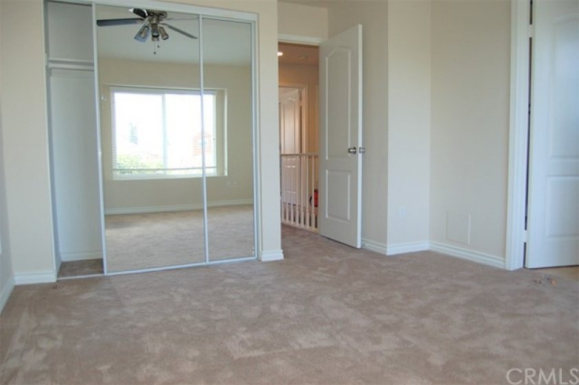The second master bedroom. This one has a full shower and bath.