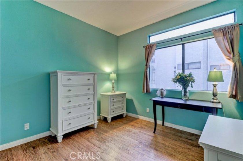 Second bedroom is also generous in size