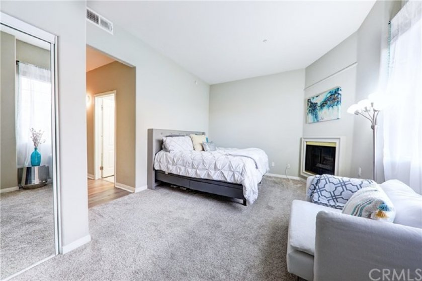Master bedroom retreat with private hall, en-suite bath and 3 closets