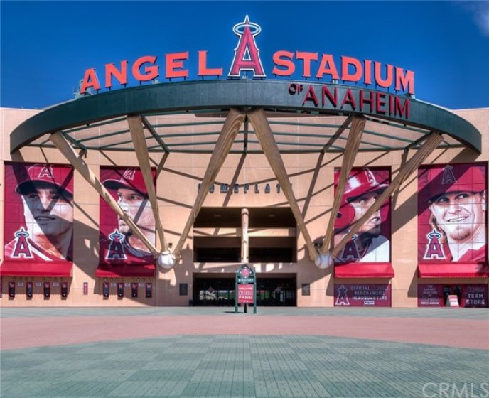Major League Baseball is also just minutes away at Angel Stadium.  Watch the Angels play or catch other events held here.