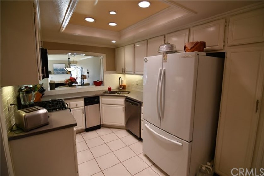 Just one more view of the exceptional upgraded kitchen.