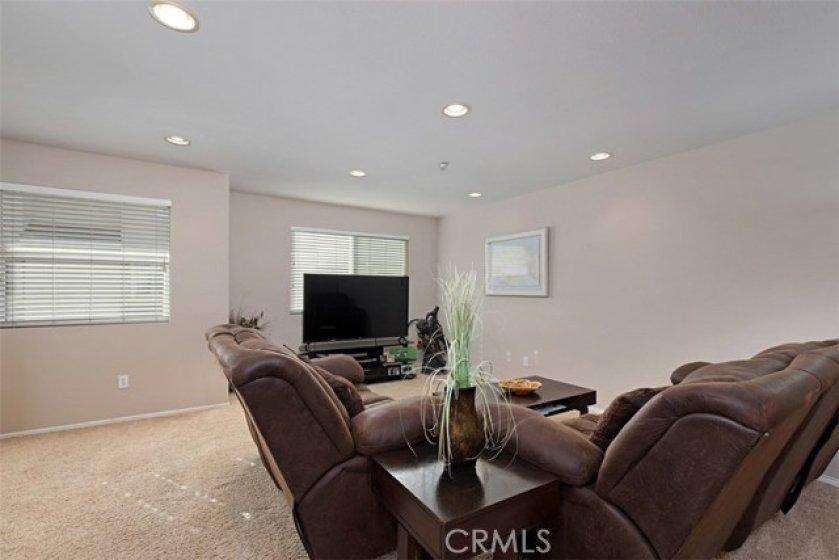 Living room.  An abundance of natural light!