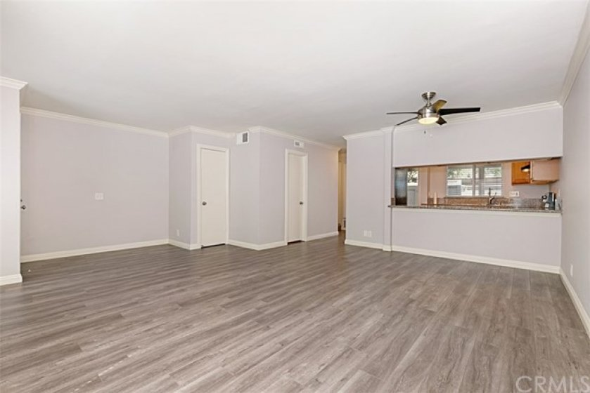 Open floor plan in the beautiful, remodeled, spacious 3 bedroom town home!