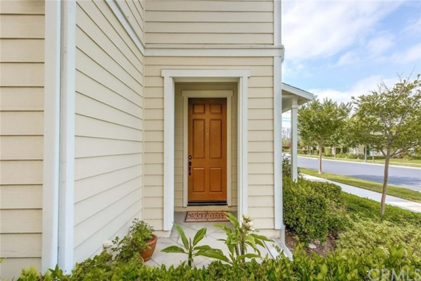 Your new home is right behind the door!