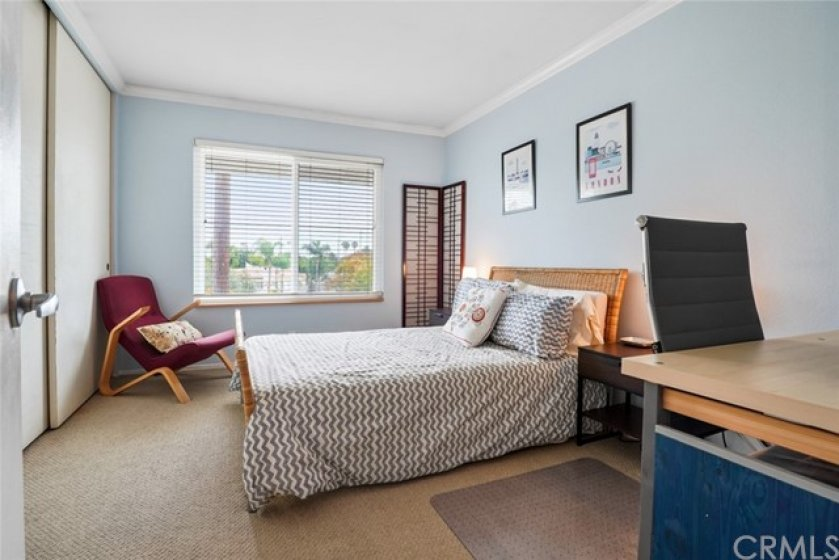 Very large guest bedroom with huge closet