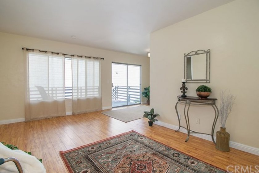 As you enter the home you are greeted with the very large and spacious living room.