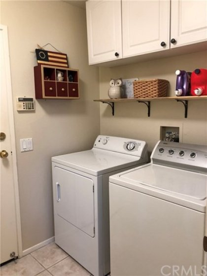 Laundry Room with Direct Access to 2 Car Garage