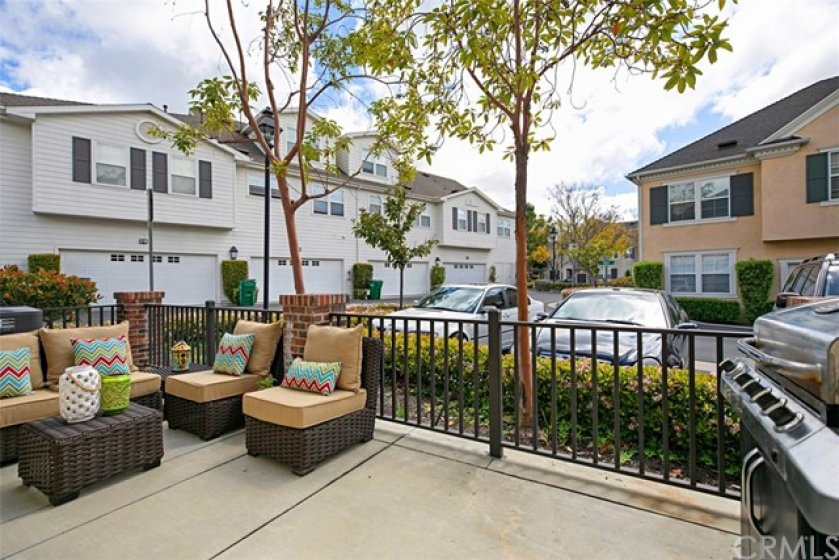 Outdoor patio area where you can make memories with friends and family.