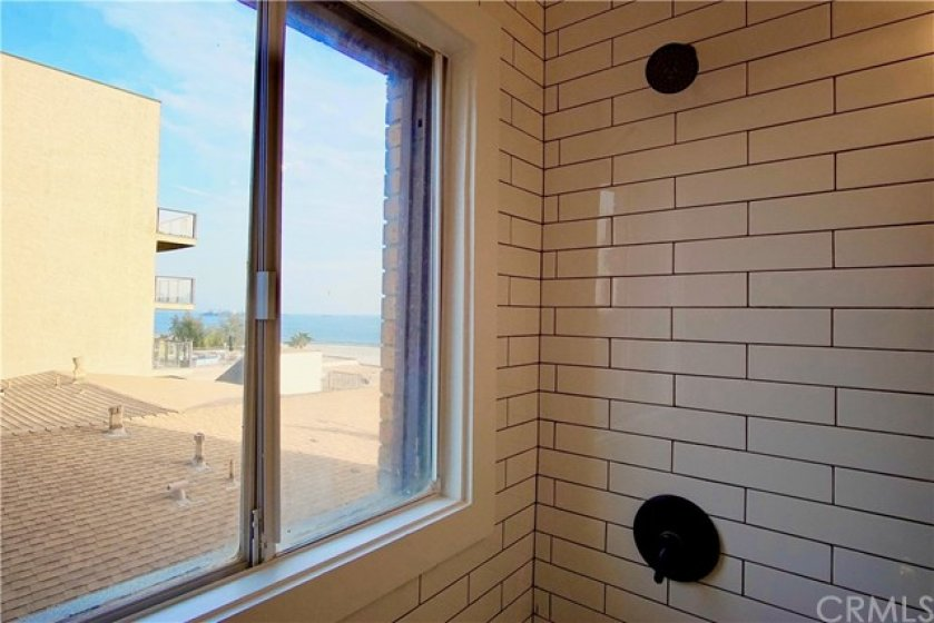 Ocean Views from your shower!