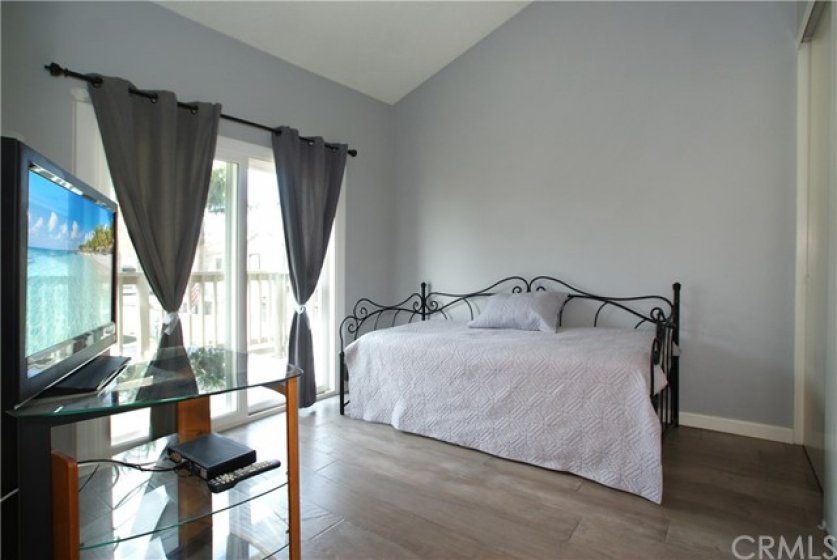 Bedrooms have access to a large open balcony