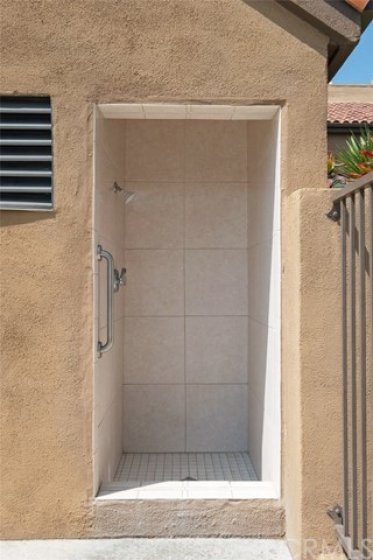 For your convenience an Outdoor Shower in the Pool area