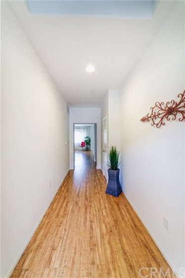 Formal Foyer Entrance with Skylight