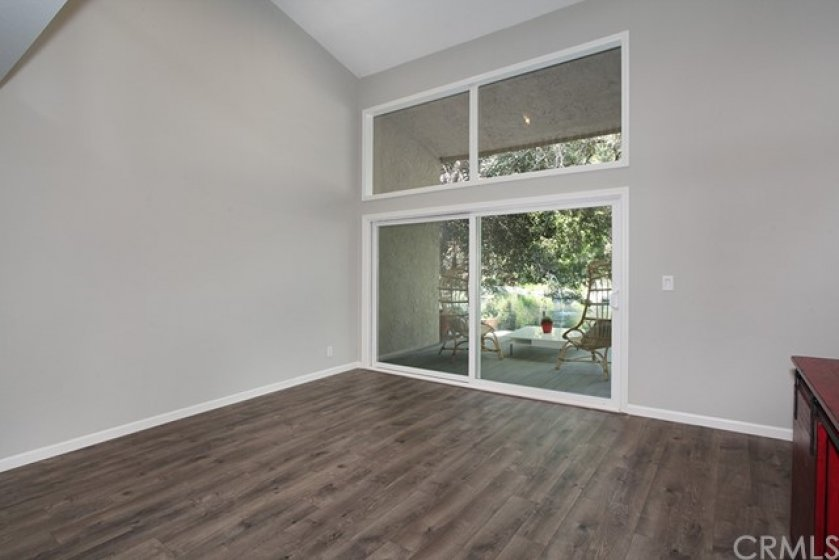 Fresh paint, cathedral ceilings and clean windows. Ready for you to move in.