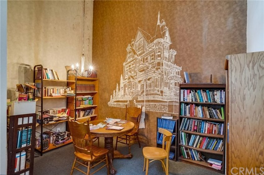 Community Library Area in Club house.